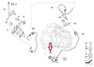 BMW Genuine Clutch Slave Cylinder R50 R52 21 52 6 785 965 for Cooper Cooper