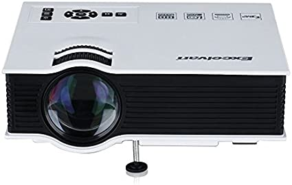 Excelvan® UC40 - Mini proyector portátil LED Home Cinema (800 ...