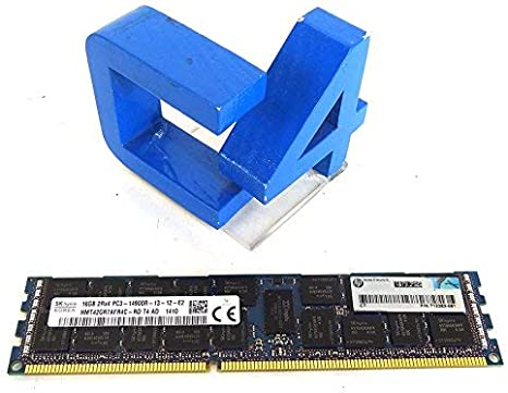 HP Compatible 8GB PC3-12800 DDR3-1600 2Rx4 1.5v ECC Registered RDIMM HP PN# 698808-001
