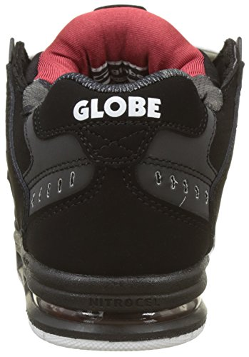 100% guaranteed online latest collections for sale Globe Sabre Mens Trainers Black Red browse sale online 6eLFP6G