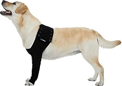 Suitical Dog Recovery Sleeve Large Black from Suitical International