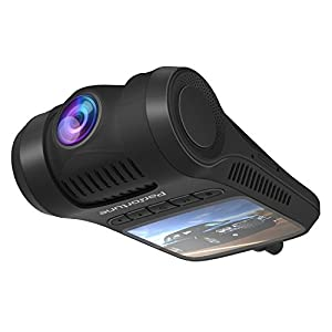 """Dash Cam, 2.0"""" LCD FHD 1080P Car Dashboard Camera Recorder F8 with Sony Exmor Video Sensor, 6-Lane 170 Degree Wide-Angle View A+ Lens, G-Sensor, WDR, Loop Recording, Night Vision"""
