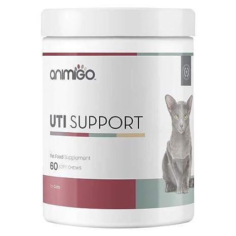 UTI Suplemento para Gatos - Suplemento Natural para el Cuidado del Tracto Urinario De Los Gatos - Protege De Las Infecciones Urinarias - 60 Comprimidos ...
