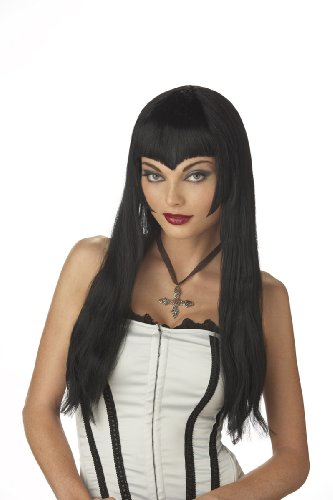 California Costumes Women's Vampiress Wig,Black,One Size -