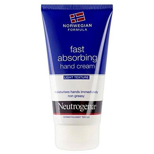 Neutrogena Norwegian Formula Fast Absorbing Hand Cream (75ml) - Pack of 2