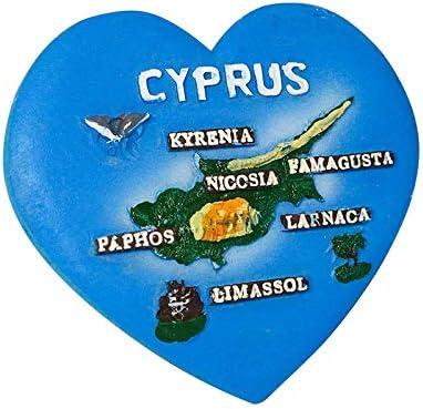 zamonji Chipre 3D Resina Imanes para Refrigerador Imán de Nevera ...