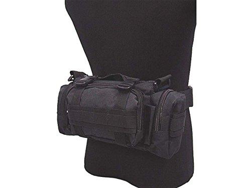Taktische Molle Kamera Rucksack Jagd Camping Wandern Schulter Airsoft Tasche Black