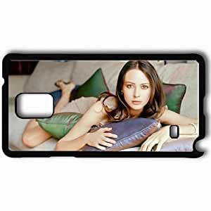 Personalized Samsung Note 4 Cell phone Case/Cover Skin Amy Acker Black