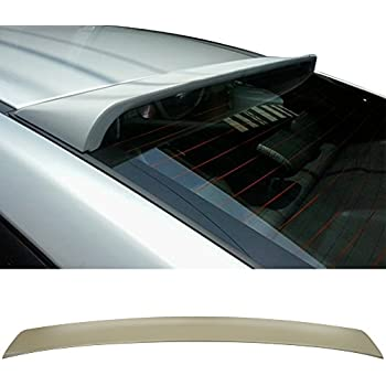 JR2 Painted White Color for 2015 2016 2017 2018 2019 Hyundai Sonata 4D Rear Window Roof Spoiler