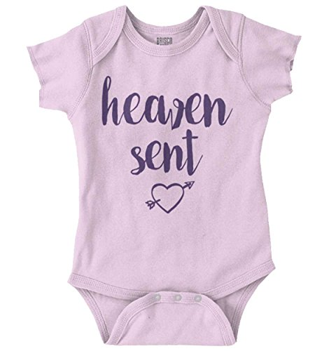 Sent Christian Shirt Cool Baby Clothes Funny Gift Idea Romper Bodysuit ()