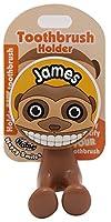 "John Hinde My Name ""James"" Toothbrush Holders"