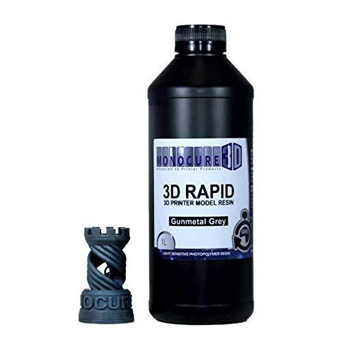 Monocure3D 3DR-3590GM-01B Rapid Resin, Kunstharz, 1l, Gunmetal Grey