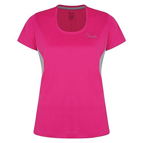 TALLA 8. Dare 2b - Camiseta para Mujer, diseño con Texto I T