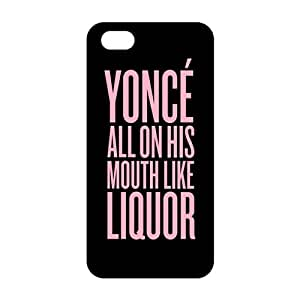 Evil-Store Pink yonce motto 3D Phone Case for iPhone 5s
