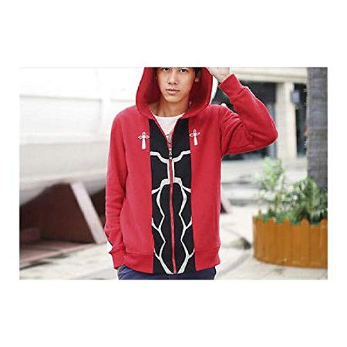 FidgetGear NEW! Fate Stay Night Archer Cosplay Red Sweater Hoodie Red XL from FidgetGear