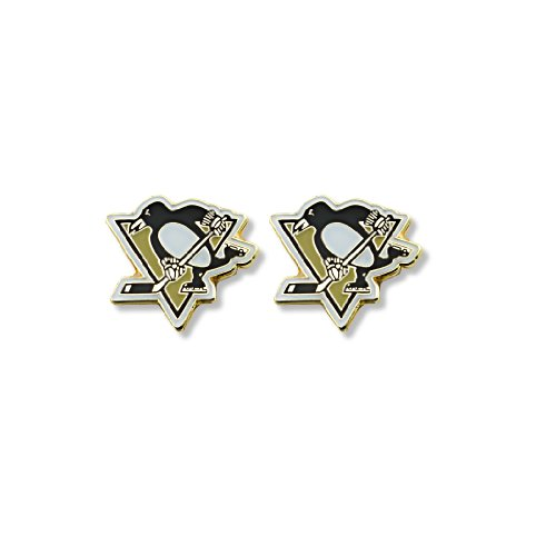 NHL Pittsburgh Penguins Logo Post Earrings