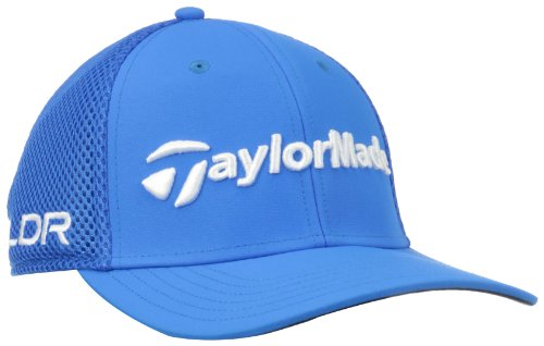 TaylorMade Tour Cage Hat, Blue, Large/X-Large