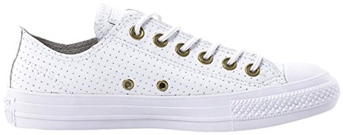 Unisex Converse Zapatillas Chuck Ox adulto All Blanco Taylor Star aawYqr