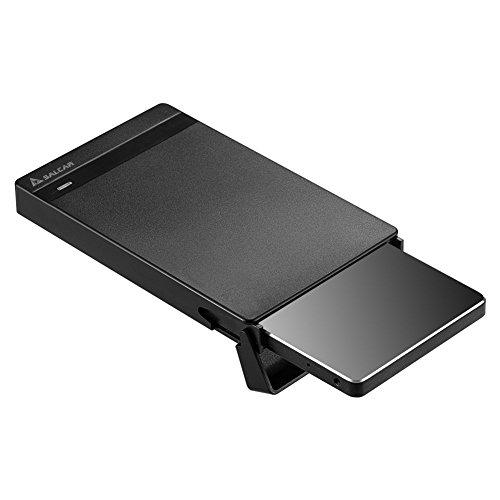 Salcar 2,5 Zoll USB 3.0 HDD SSD Festplattengehäuse für 2,5