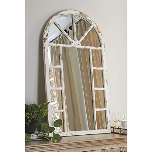 Signature Design by Ashley - Divakar Accent Mirror - Arched Frame - -