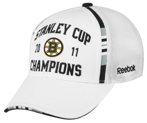 NHL Men s Boston Bruins 2011 Stanley Cup Champions Official Locker Room Hat  (B0052TOW1M)  400710a892c0