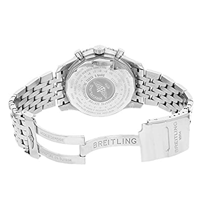 Breitling Men's A2432212/B726 Navitimer World Analog Selfwinding mechanical Watch
