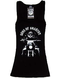 Jax Fear The Reaper Womens Tank Top Shirt