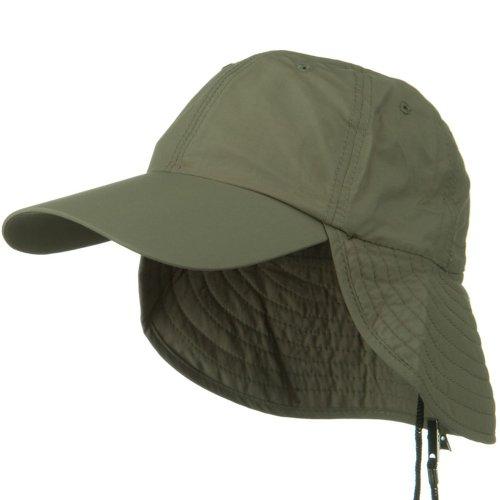 Juniper UV 50+ Outdoor Talson UV Flap Cap - Olive