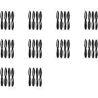 10 x Quantity of Hubsan X4 H107D Black Propeller Blades Props Rotor Set 55mm Propellers Factory Units Prop Blade Blacks