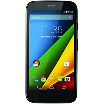 Motorola Moto G LTE- Factory Unlocked US Warranty (Black)