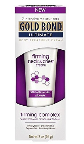 - Gold Bond Ultimate Firming Neck & Chest Cream, 2 Oz (3 Pack)