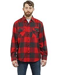 "<span class=""a-offscreen"">[Sponsored]</span>Men's Long Sleeve Flannel Plaid Button Down Shirt"