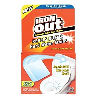 Summit Brands Iron Out AT12T Iron OutAutomatic Toilet Bowl Cleaner