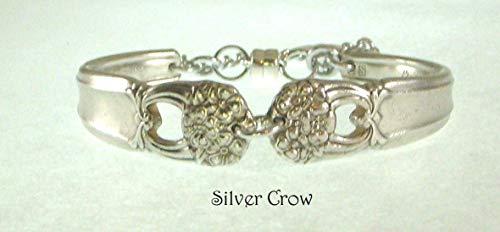 Silverware Bracelet Eternally Yours Pattern Silverplate