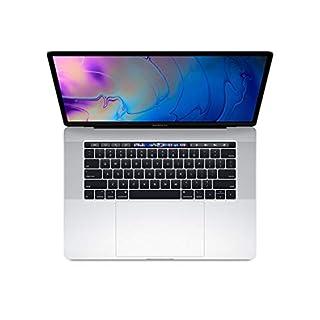 "Apple 15.4"" MacBook Pro w/Touch Bar (Mid 2019), Intel Core i7-9750H 2.6GHz, 256GB PCI-E SSD, 16GB DDR4, 802.11ac, Silver (Renewed)"