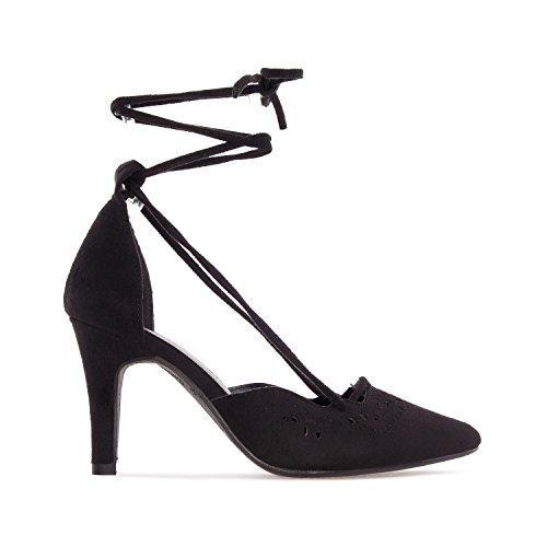 Übergrößen Pumps in Machado Schuhe Damen Schwarz Andres nTwYpZqA