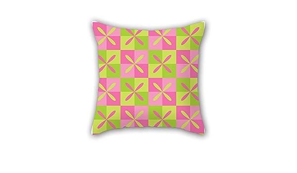 Geometría manta funda de almohada 16 x 16