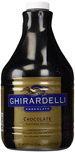 Ghirardelli Black Label Chocolate Sauce 87.3oz - Single Bottle ()
