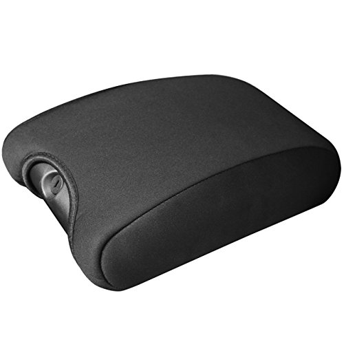 DEDC Jeep Center Console Cover Pad Neoprene Auto Console Armrest Protector for Jeep Wrangler JK Sahara Sport Rubicon X Unlimited Black 2011 2012 2013 2014 2015 2016 2017