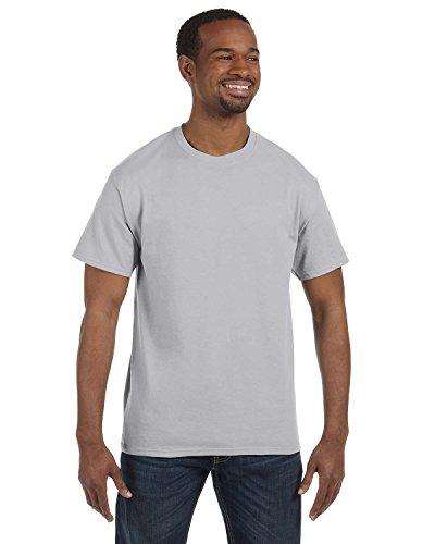 Gildan mens Heavy Cotton 5.3 oz. T-Shirt(G500)-ASH ()