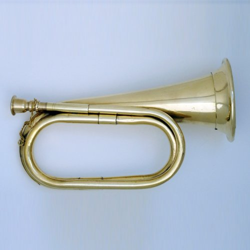 Civil War Era Brass Bugle US Military Cavalry Style Horn New by MB by MB