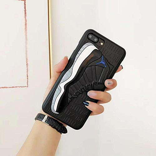 1 piece Luxury brand Basketball Jordan shoes case for iphone X Xs Max Xr 8 7 6 6S Plus 3D Sneakers Ball Soft silicon phone Cover coque