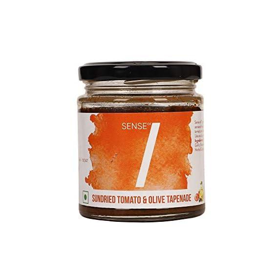 Sense of 7 Sundried Tomato & Olive Tapenade 180 g [100% Vegan]