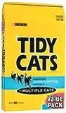 GOLDEN CAT COMPANY 702032 Tidy Cats Multiple Cat Immediate Odor Control Conv Tough Bag, 40-Pound