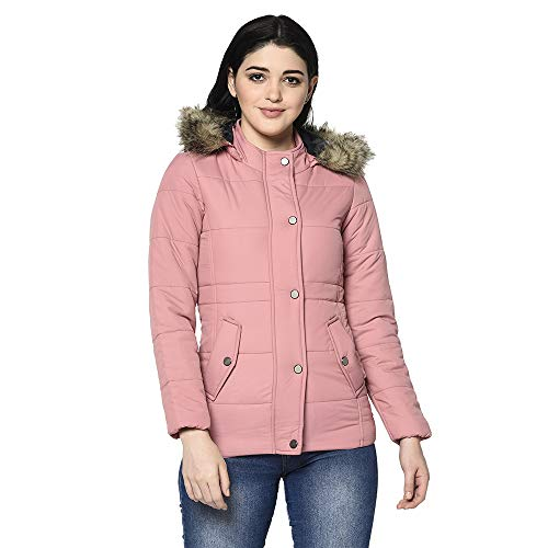 Trufit Women #39;s Full Sleeve Jacket With Removable Hood
