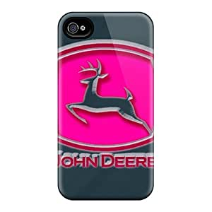 Forever Collectibles John Deere Pink Hard Snap-on Iphone 6 Cases