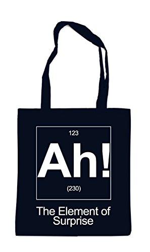 AH! The Element Of Suprise Bag Black
