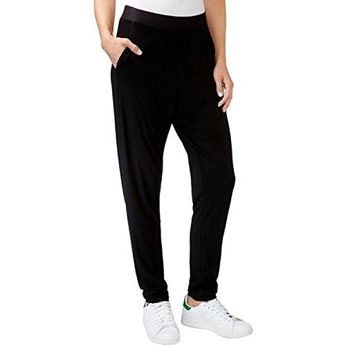 Rachel Roy Womens Jersey Tapered Leg Lounge Pants Black S from RACHEL Rachel Roy