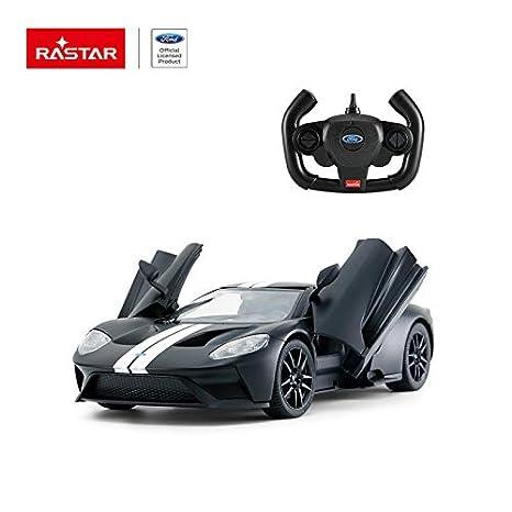 Rastar   Scale Ford Gt Rc Open Door Radio Remote Control Model Toy Car