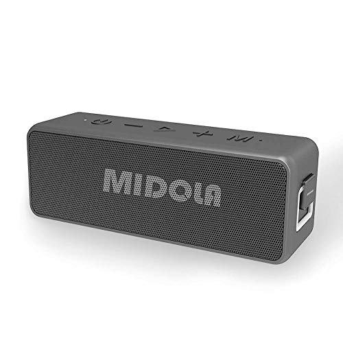 Bluetooth Speaker, MIDOLA X5Pro Waterproof Wireless Bluetooth 5.0 Speakers with Rich Bass, 10W x2 Loud HD Sound, Built in Mic. Perfect Wireless Speaker 15+Playtime for Phone, Tablet, TV, and More.